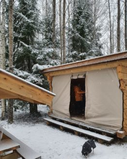 Alpakkavandring - Leirplass Gapahuk